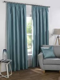 Blue Silk Curtains Faux Silk Curtain Material Uk All About Curtain And Decor