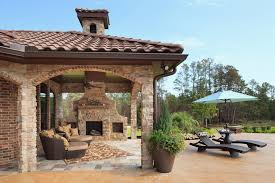 Chaise Lounge Houston Houston Outdoor Chaise Lounges Patio Mediterranean With Stone