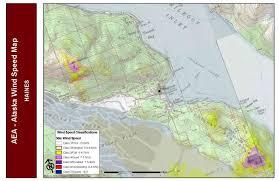 Valley Fair Map Wind Analysis Data