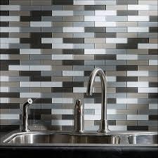 Cheap Peel And Stick Backsplash by Kitchen Smart Tiles Backsplash Peel And Stick Glass Tile