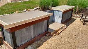 outdoor kitchen countertop ideas concrete countertops outdoor kitchen stunning on with regard to