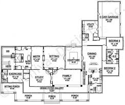 House Plans Ranch by La Fonda Ranch Floor Plans Residential House Plans