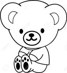 cartoon drawing of a bear how to draw a cartoon bear step step