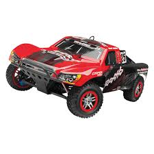 nitro rc monster trucks traxxas nitro slayer pro 4x4 1 10 scale short course race truck