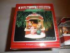 hallmark motion ornaments ebay