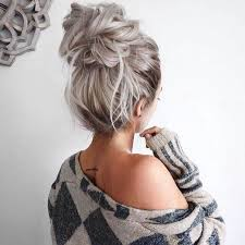 pintrest hair ideas about hair buns images cute hairstyles for girls