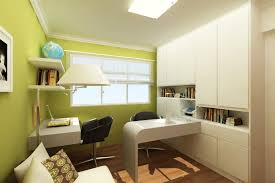 cool teenage study room design with modern desk and nice chair