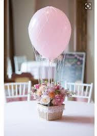 hot air balloon centerpiece where can i buy balloon baskets
