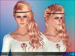 sims 3 hair custom content sims 3 downloads curly hair