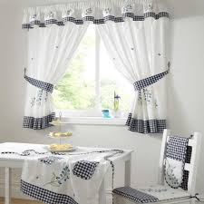 Kitchen Kitchen Curtains On Pinterest With White Curtain And
