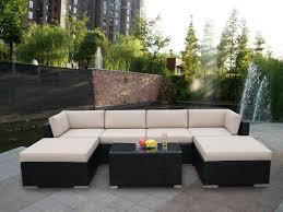 Rolston Wicker Patio Furniture - patio 16 rustic garden patio decoration black resin wicker