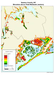 New York Counties Map More Sea Level Rise Maps For New York State