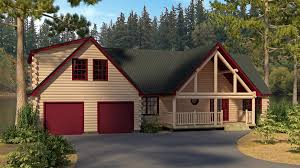 log home design plan and kits for cumberland