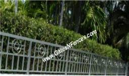 railings balcony porch deck rails metal aluminum wrought iron