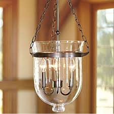 Antique Pendant Lights Antique Country Clear Glass 3 Lights Iron Pendant Lighting 10422
