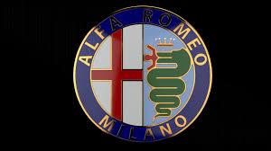 alfa romeo logo 3d alfa romeo badge cgtrader