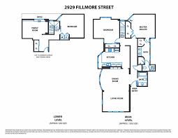 fillmore design floor plans 2929 fillmore street san francisco ca 94123 mls 464580