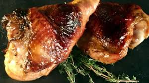 pan seared turkey with caramelized and roasted garlic recipe