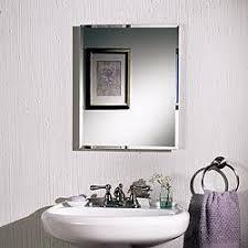 frameless recessed medicine cabinet amazon com jensen b773385 frameless horizon single door recessed
