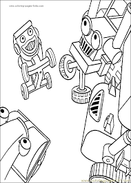 bob the builder coloring page 17 coloring page free bob the