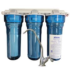 undersink water filtration system for well lake or city water