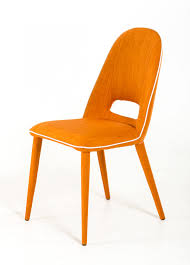 Dinette Chairs by Kenneth Orange Fabric Dining Chairs Orange Dining Chair
