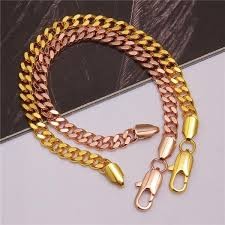 rose gold hand bracelet images 2018 gold hand chain bracelet rose gold plating wide chain men jpg