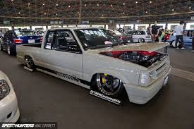 nissan hardbody drift sr powered mazda pickup when drift car meets minitruck speedhunters