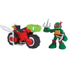 cycle shell teenage mutant ninja turtles raph with mini cycle walmart com