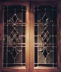 beveled glass kitchen cabinets pin by pattee on home glass kitchen cabinets