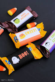 free printable halloween candy bar wrappers crazy little projects
