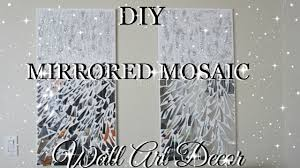 Wall Art by Diy Mirror Mosaic Wall Art Pier One Inspired Petalisbless