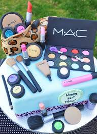 mac make up cake by thecakemamas on flickr