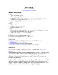 Sample Resume For Software Engineer With 1 Year Experience by Resume Sharepoint Developer Resume