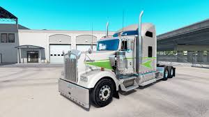 kenworth tractor trailer skin movin on tractor truck kenworth w900 for american truck simulator