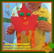 fall crafts homeschooled kids online