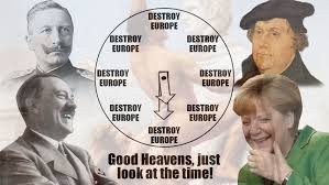 What Time Meme - destroy europe good heavens just look at the time know your meme