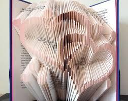 angel pattern book folding pattern folded book art pattern