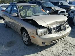 2002 hyundai elantra price salvage hyundai elantra for sale at copart auto auction