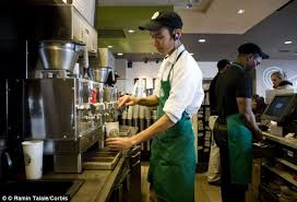 starbucks u0027 baristas must share their tips with shift supervisors