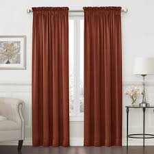Orange And Brown Curtains Orange Curtains Drapes For Window Jcpenney