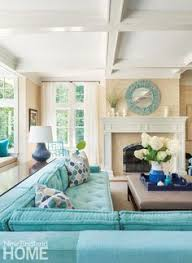 Turquoise Living Room Ideas Built In Turquoise Sofas Cindy Meador Interiors Lovely Living