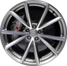 audi q5 rims and tires aly58970 audi q5 wheel grey machined 8r0601025ch
