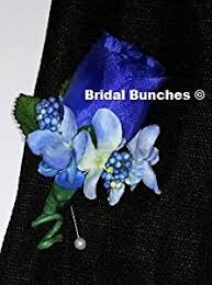 royal blue boutonniere cheap blue boutonniere find blue boutonniere deals on line at