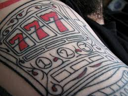 777 arm tattoo flickr