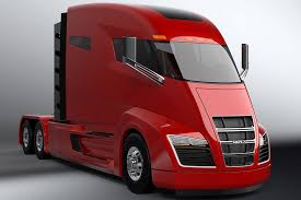 concept semi truck nikola tesla of trucks now faces off with actual tesla trucks