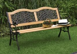 Steel Garden Bench Garden Bench Made Of Wood Or Other Materials Hum Ideas