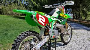 for sale kx250 gncc paul edmondson factory race bike for sale