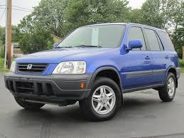 01 honda crv 2001 honda crv ex 4x4 electric blue sold