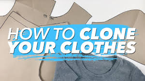 how to make patterns from your clothes clone your wardrobe